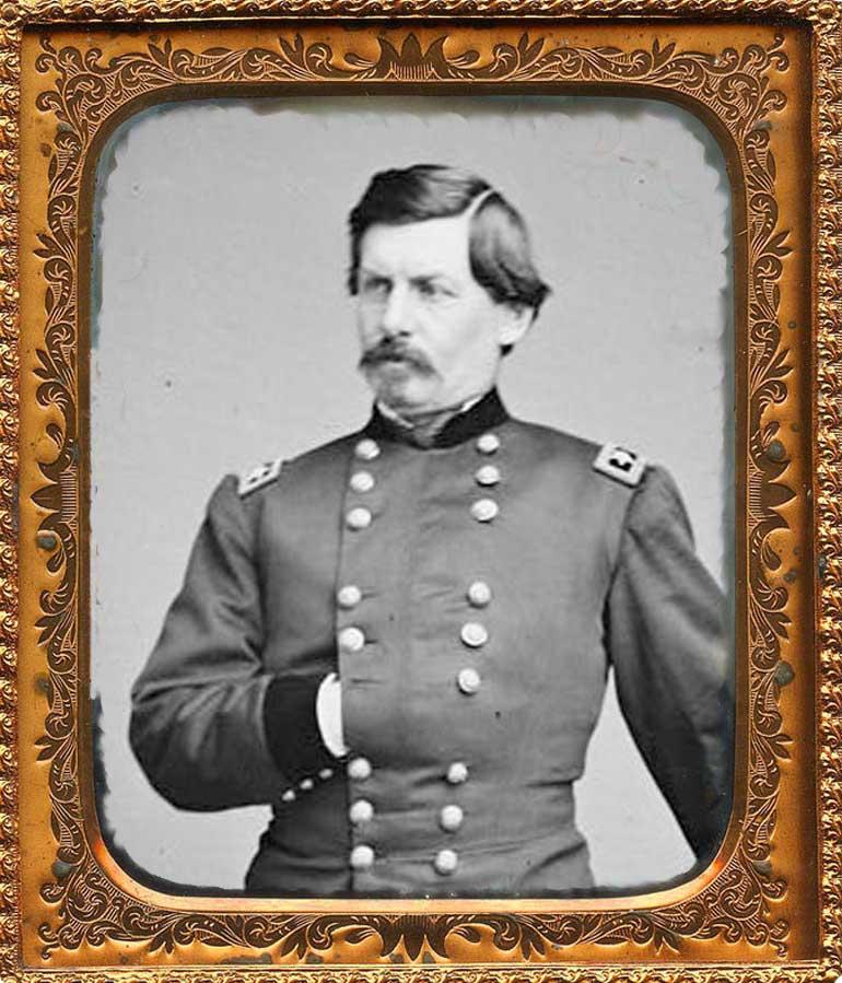 General George McClellan portrait