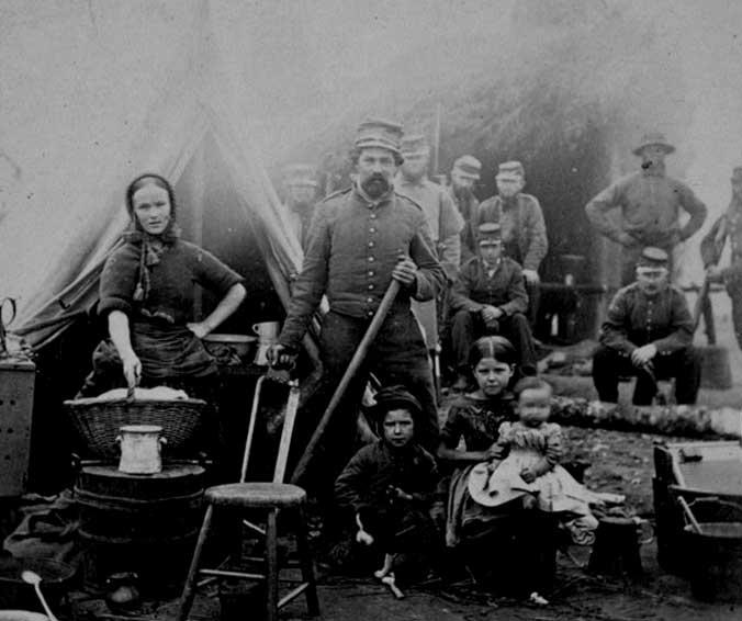 camp-of-31st-pennsylvania-infantry-near-washington-by-matthew-brady