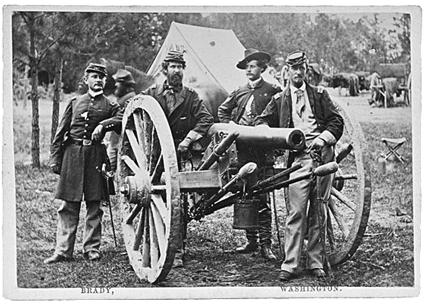 union-artillery-by-matthew-brady