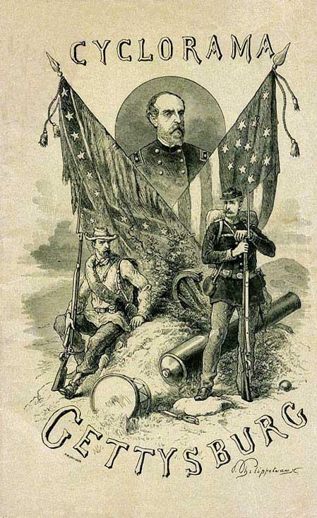 Gettysburg Cyclorama brochure