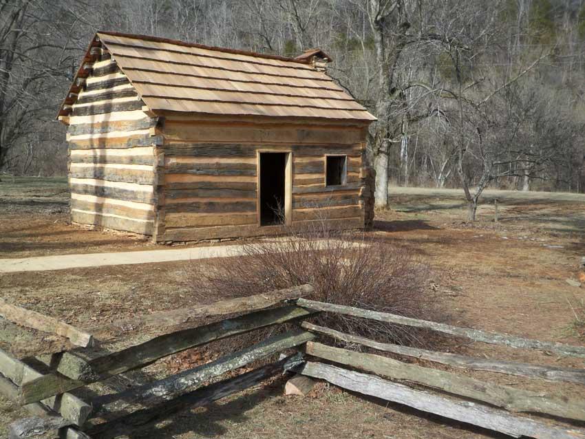 Lincolns-boyhood-at-Knob-Hill-Kentucky