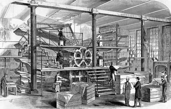 Press-room-of-the-New-York-Tribune-in-1861