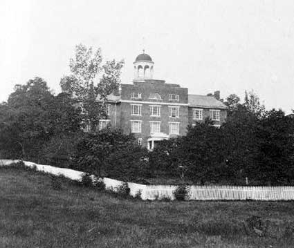 Battlefield-of-Gettysburg-Theological-Seminary-used-as-a-hospital-during-and-after-the-battle