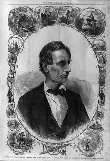 The early life of president elect Lincoln