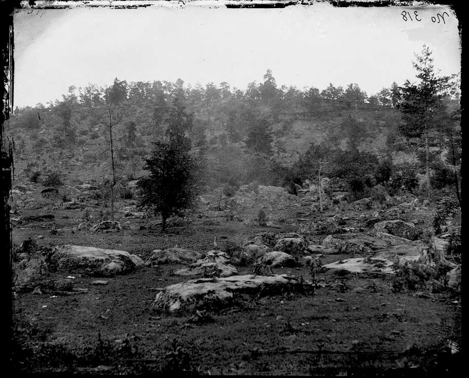 Little Round Top c 1863