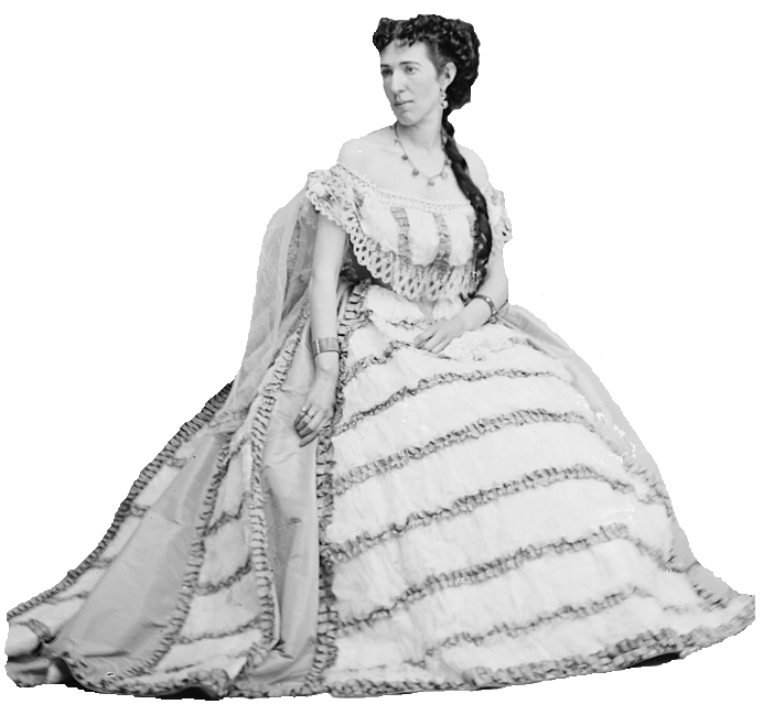Civil War portrait of Belle Boyd between 1855 and 1865