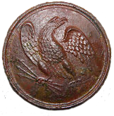Eagle Breast Plate button