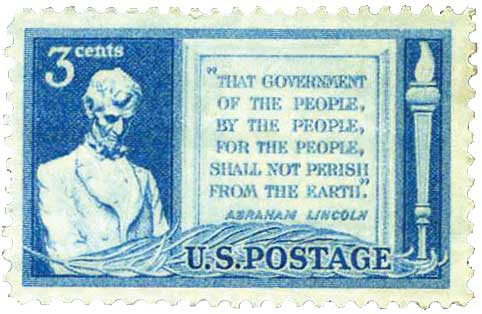 Commemorative 3-cent stamp, issued November 19, 1948