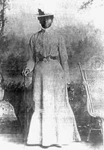 Civil War photograph portrait of Mary Elizabeth Bowser, African American woman spy