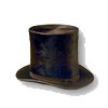 Civil War era top hat