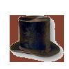 Civil War era stove top hat
