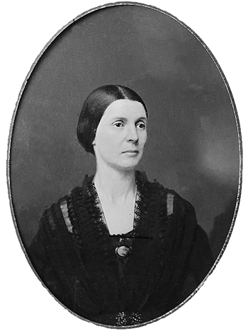 Civil War photograph portrait of Rose Greenhow between 1855 & 1865