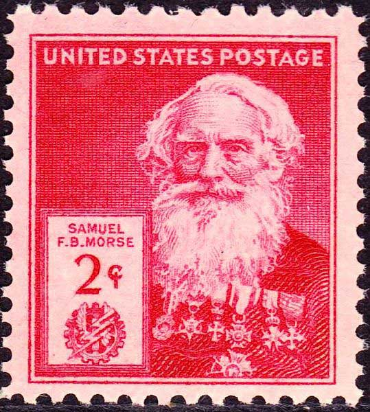 samuel-f-b-morse-7-October-1940-us-postal-Issue