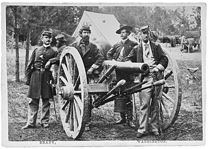 union-artillery-by-matthew-brady