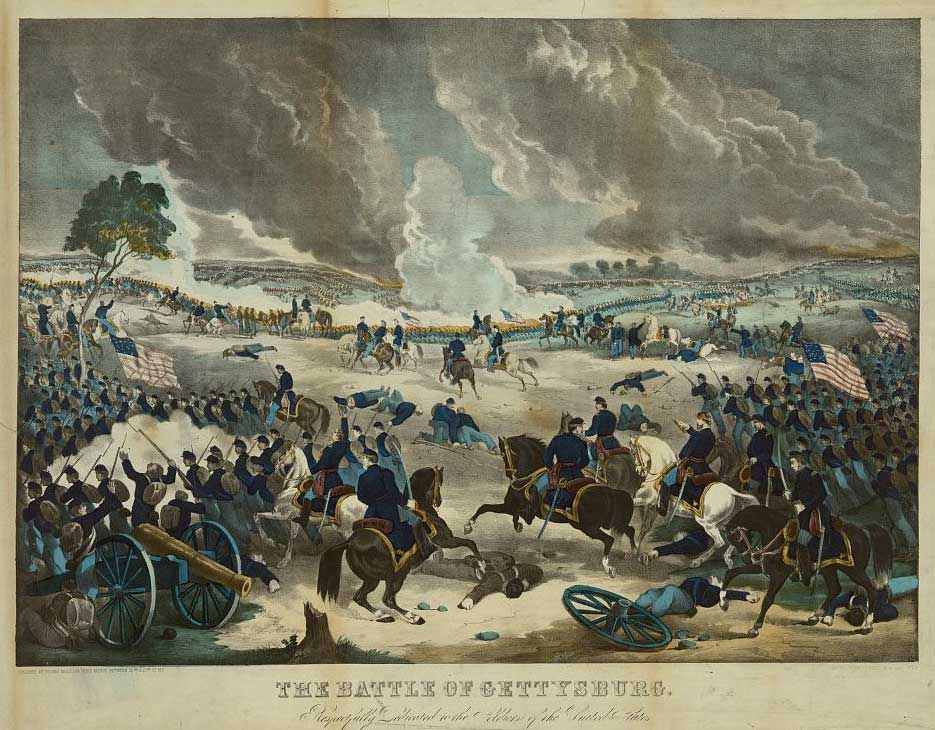 a fight over slavery the battle of gettysburg The battle of gettysburg this ultimately led to the initial fight at gettysburg on july 1, 1863 in the wake of his emancipation proclamation earlier that year, which made the abolition of slavery an explicit war goal of the union government.