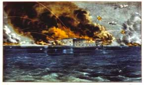 Attack on Ft. Sumter