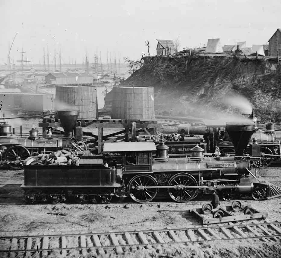 general-j-c-robinson-and-other-locomotives-of-the-us-city-point-virginia