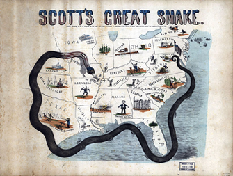 General Winfield Scott's Anaconda Plan