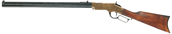 Henry rifle with an octagonal barrel, 1860
