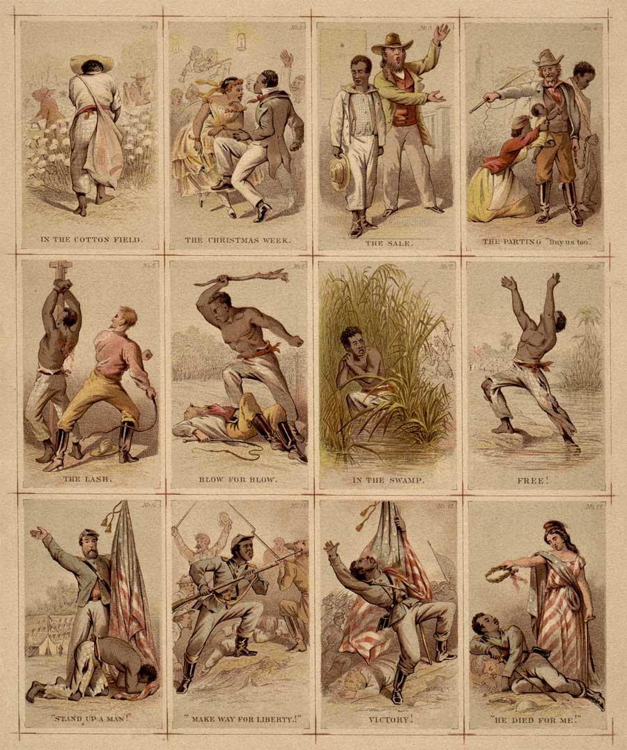 Journey of a slave illustration