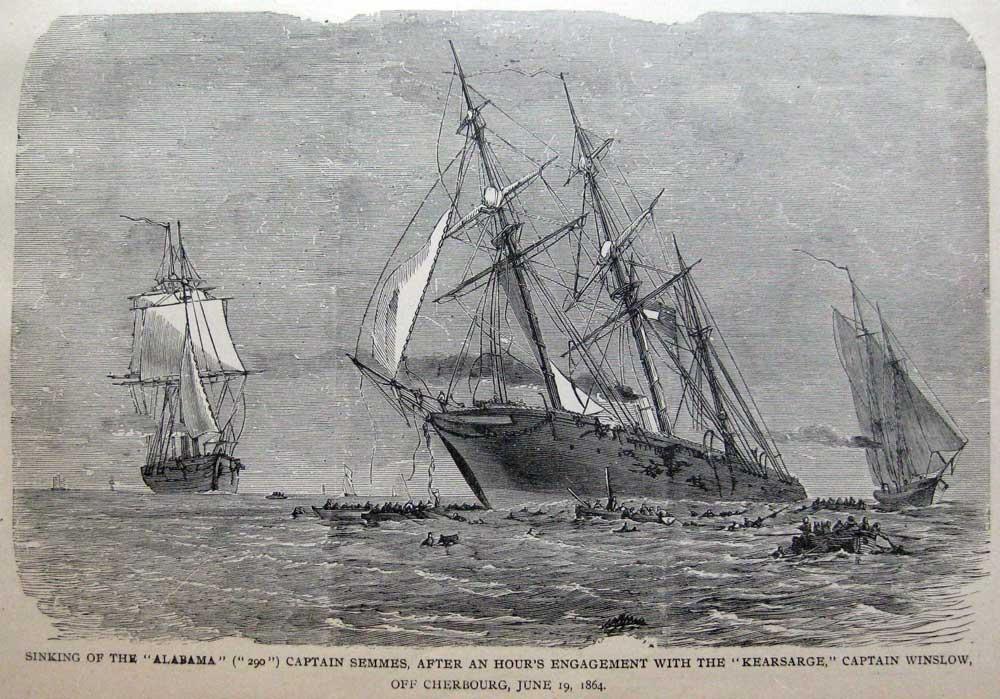 sinking-of-the-alabama-kearsarge-battle-off-cherbourg-1895
